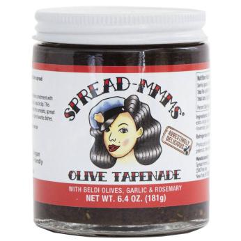 Beldi Olive Tapenade with Garlic & Rosemary -- large jar