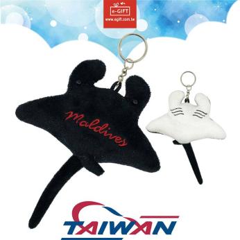 Manta Ray Plush Keychain/Toys/Keyholder/ Keyrings/ Dolls