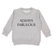 Always Fabulous Embroidered Pullover