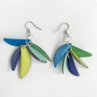 Tagua 5 Fragments Cascade Lua Earrings