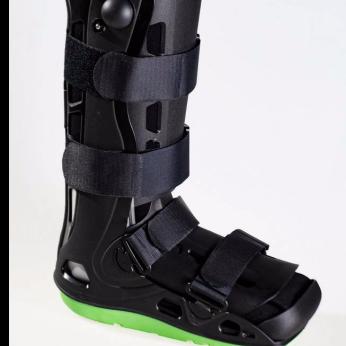 Inflatable walker boot