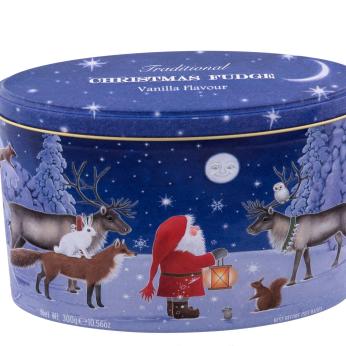 Gardiners Christmas Santa & Moon - Vanilla Fudge