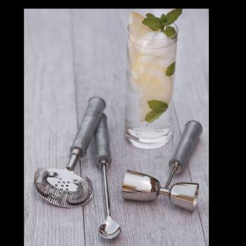 Galvanized & Stainless Bar Set
