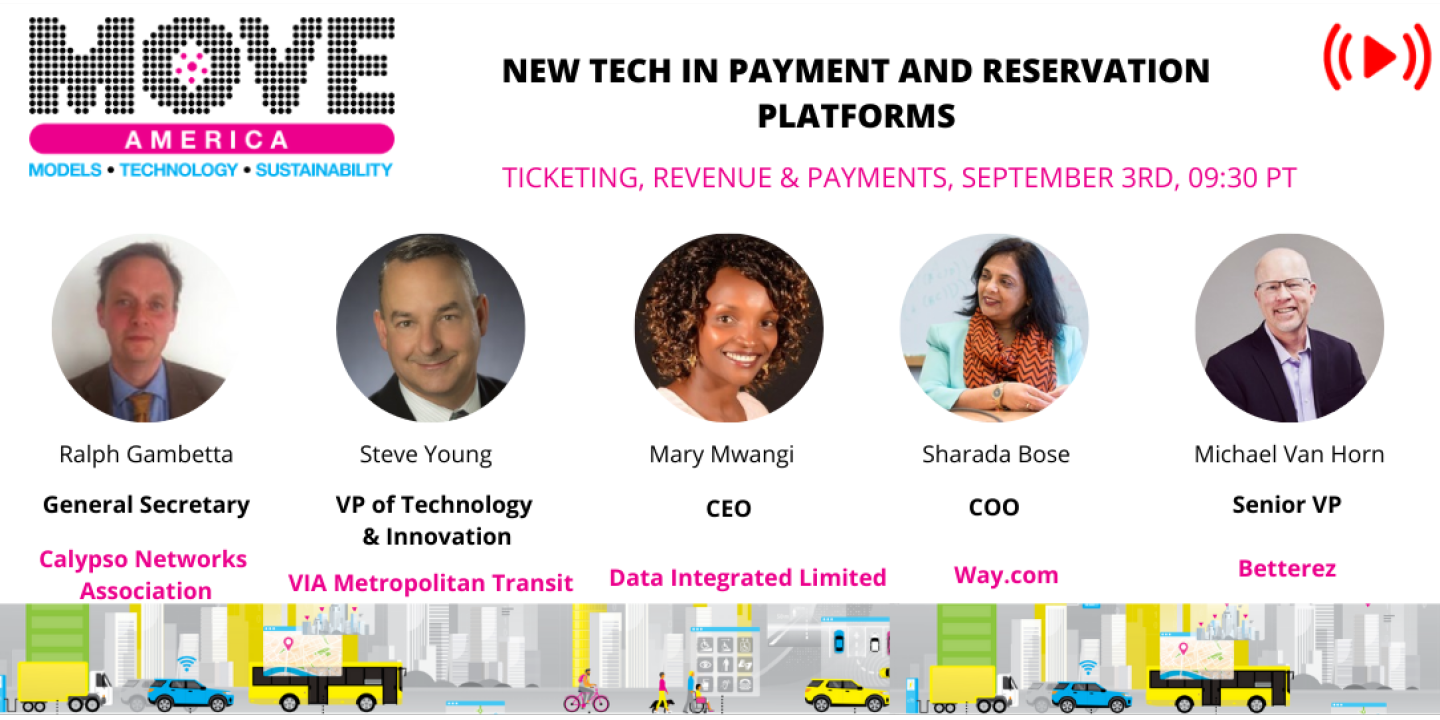 New tech in payment and reservations platforms