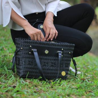 Handwoven Mini Stella Handbag