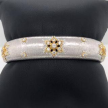 White Gold Diamond Cuff