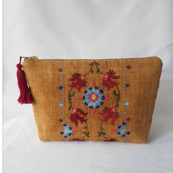Red Tulip Pouch