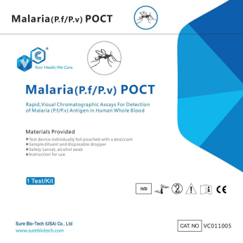 Malaria, Dengue test kits and other more infectious disease tests