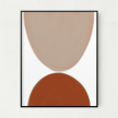 Collide Unframed Art Print