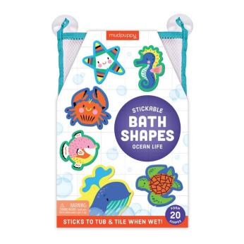 Ocean Life Stickable Foam Bath Shapes
