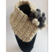 Collar with Acorn Wool application