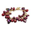 Berry Red Pearl Bracelet