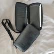 Revved Up Long Zipper Wallet