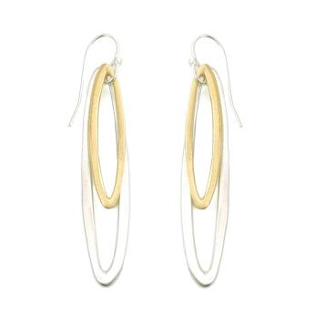 small & med ovals earrings