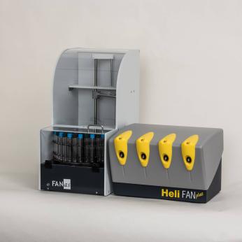 HeliFANplus (13C-Analyzer + Autosampler)