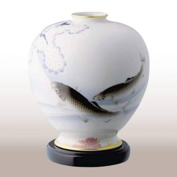 Somenishiki Carp Vase