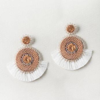 Handmade Upcycled Copper Earrings