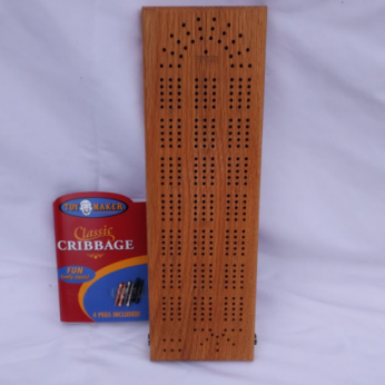 Classic Wooden Cribbage Board